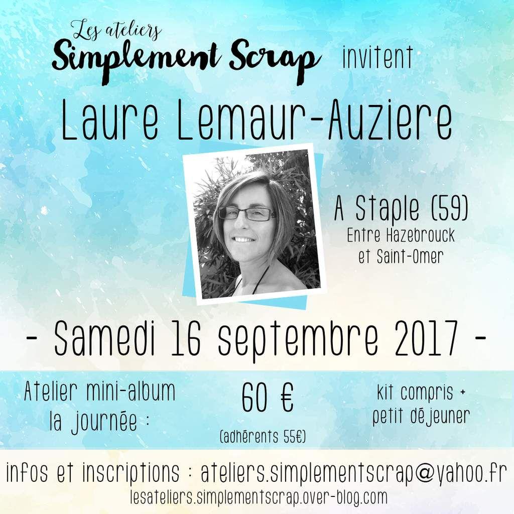 INFOS Crop avec Laure - Septembre 2017