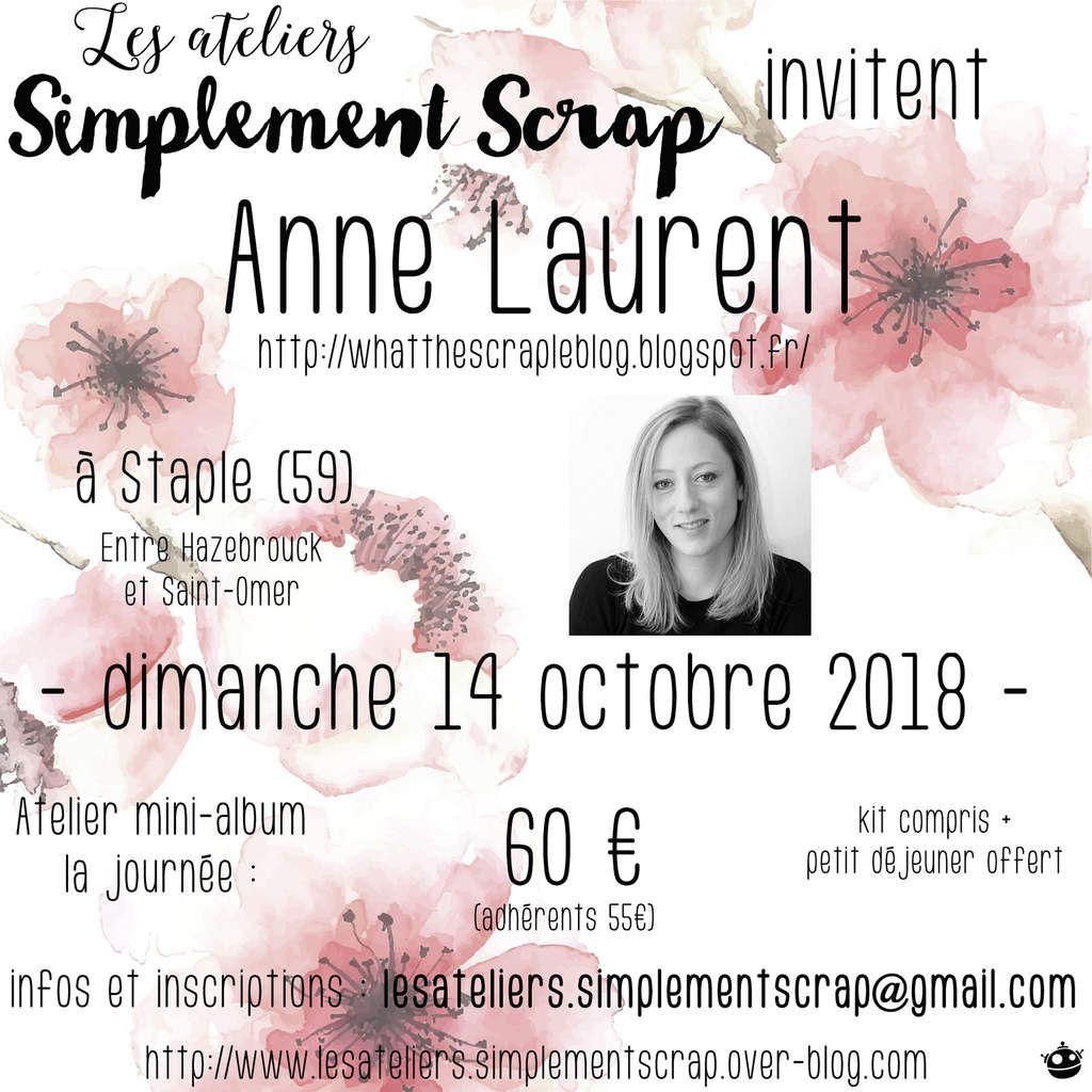 CROP avec Anne Laurent - Aperçu du kit !