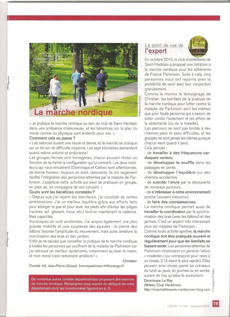 "La revue ""L'Echo"" propose l'interview de Christian Prudhomme."