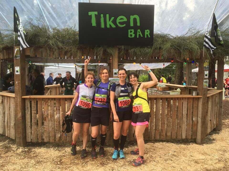 Les filles au Tiken Trail