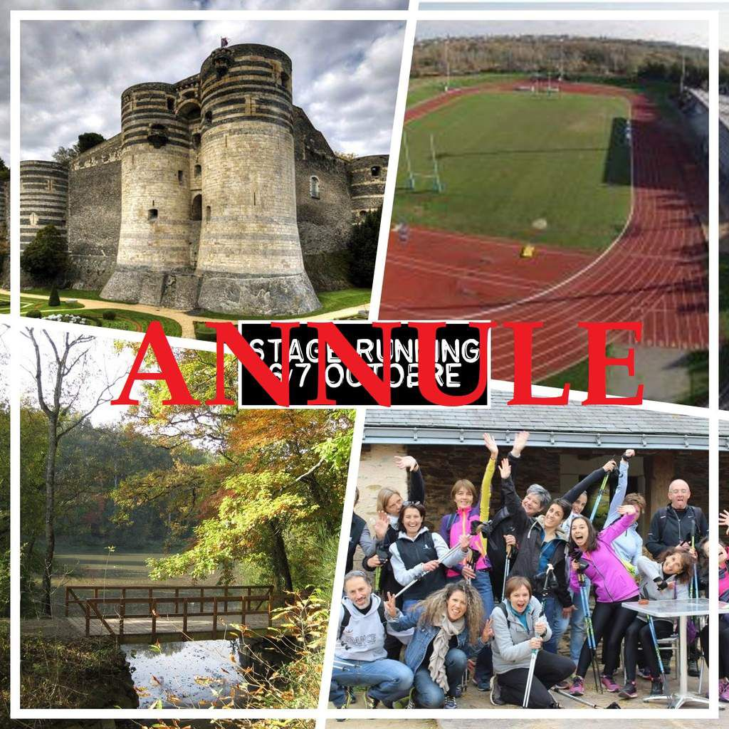 Stage Running / Course Hors Stade les 6/7 octobre en Pays Angevin