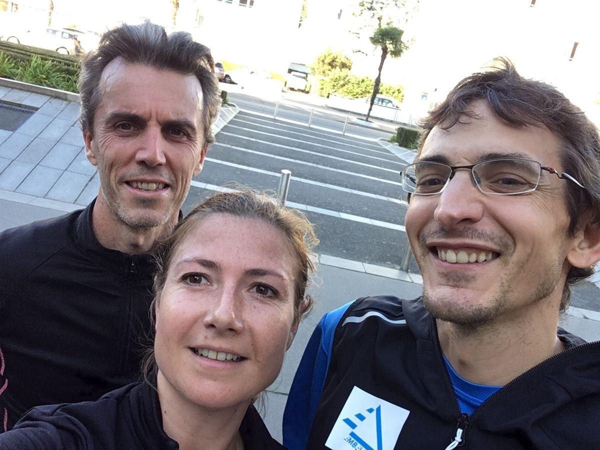 Frédéric, Emilie et Ludovic