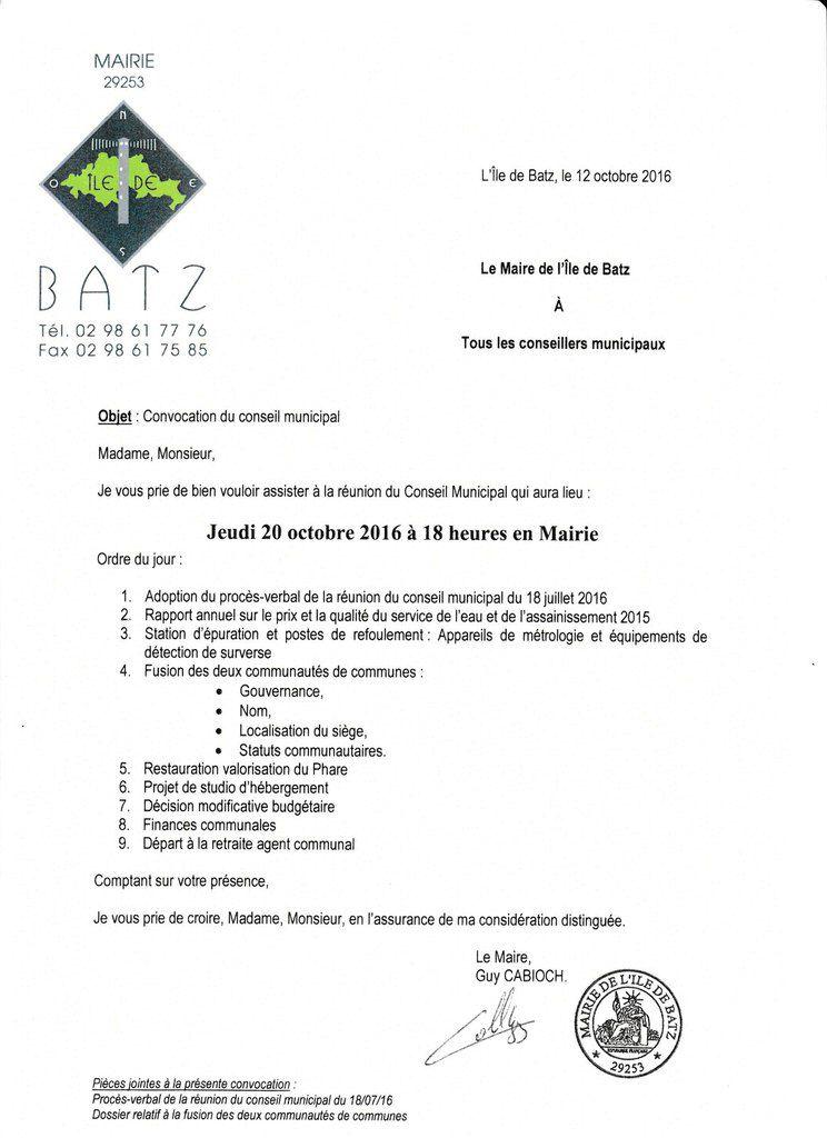 Ordre Du Jour Conseil Du 20 Octobre 2016 Anne Diraison