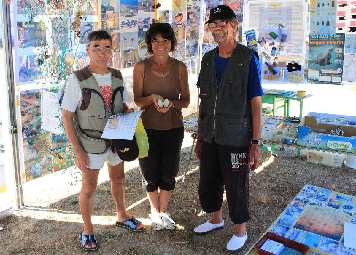 4ème & dernier stand de l'été à l'Anse du Stole