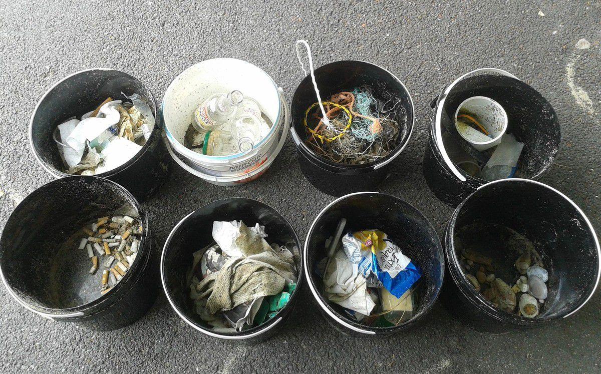 Sans oublier de parler des différents déchets collectés et triés par les enfants et enseignants !