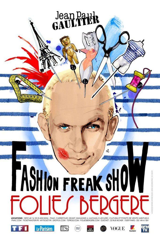 Fashion Freak Show de JEAN PAUL GAULTIER