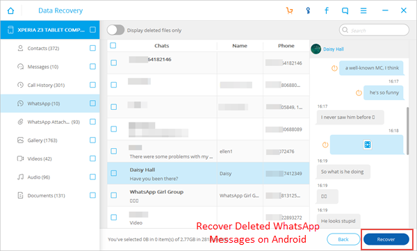 How to Restore WhatsApp Chat History from Android - Android