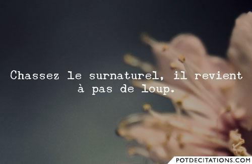 Surnaturel