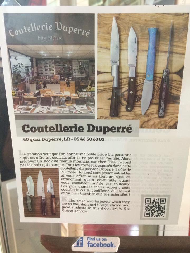 Coutellerie Duperré à La Rochelle