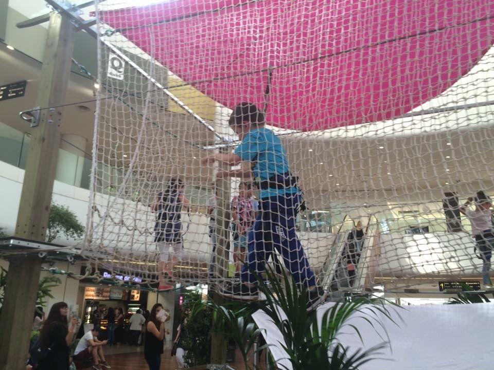 Parcours Aventures au Centre Commercial Les Quatre Temps La Défense