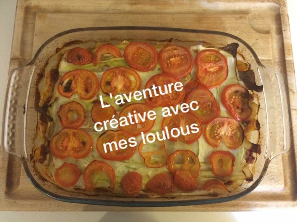 Lasagnes aux courgettes sans pâte