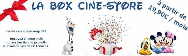 La box Ciné Store