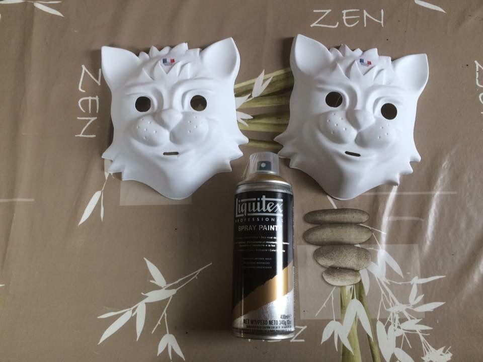 Masques Maîtres du Temps Fort Boyard