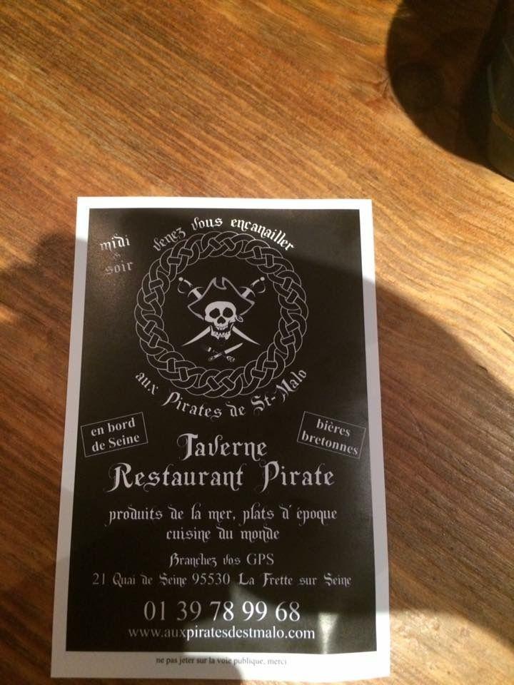 Aux Pirates de St-Malo à La Frette Sur Seine (95)
