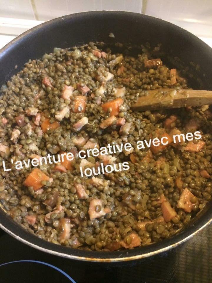 Lentilles à la Dijonnaise