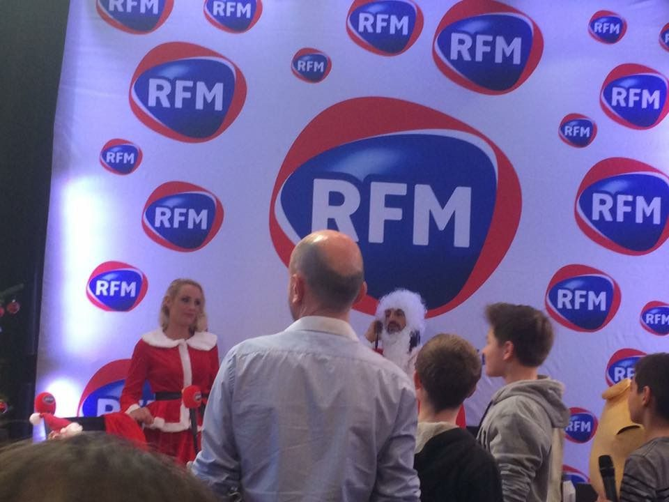 Enregistrement émission de radio RFM
