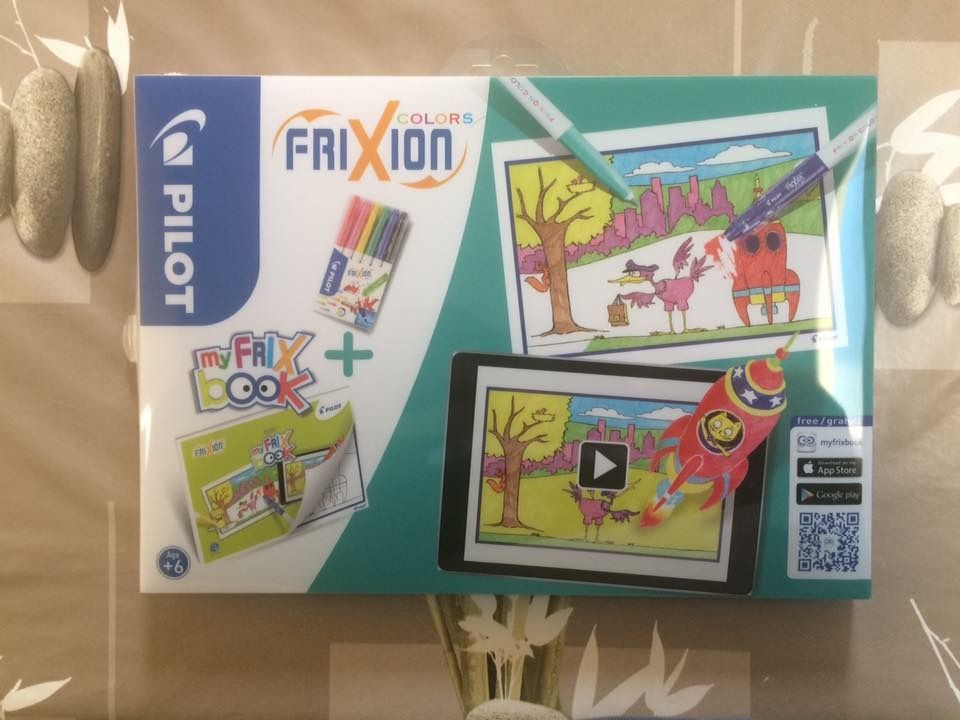 Frixion Colors : My Frix'book de Pilot