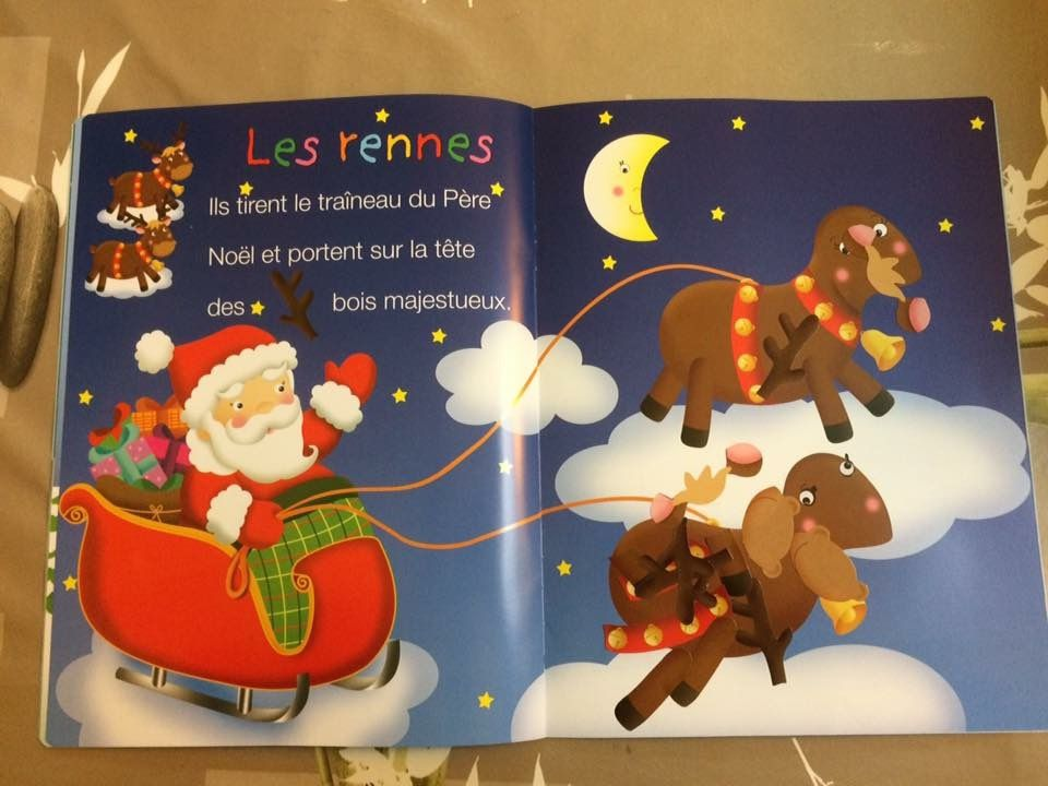 Autocollants Noël chez Fleurus Editions