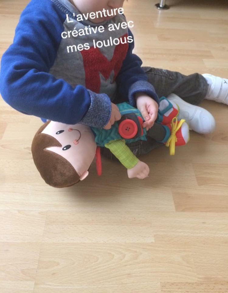 Poupée Lucas Playskool