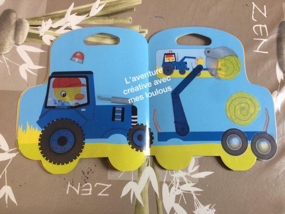 Les tracteurs en autocollants Editions Lito