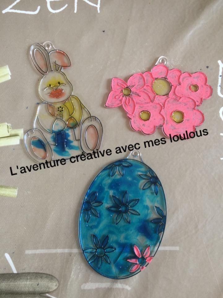 Décorations de Pâques à peindre Stokomani