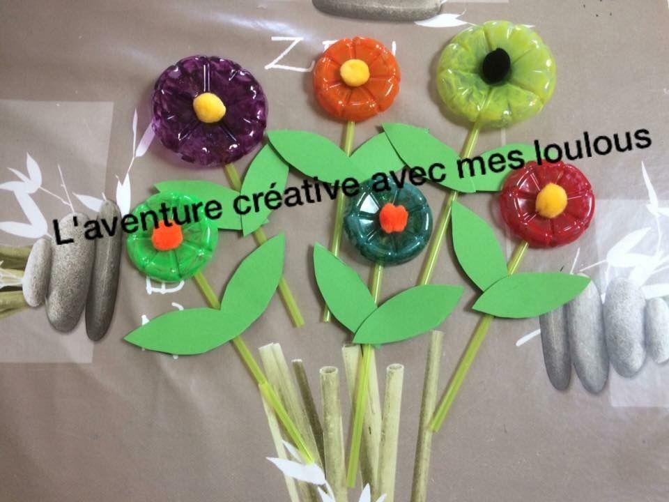 Fleurs en plastique
