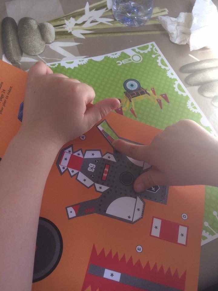 Paper Toys les robots
