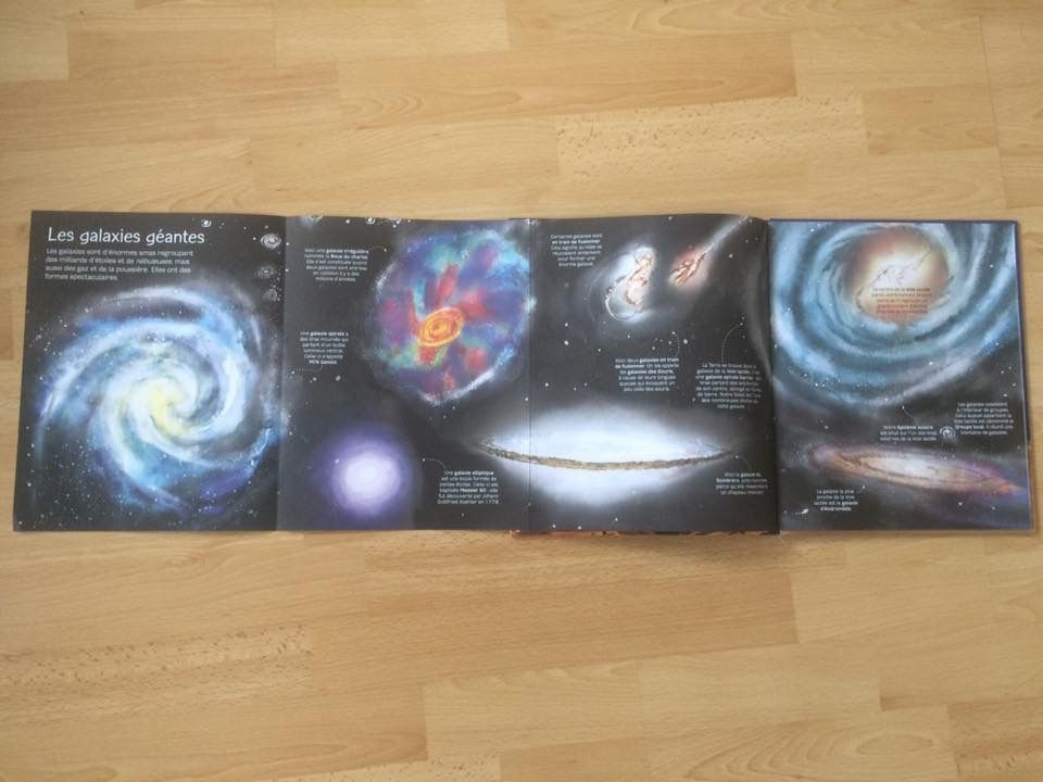 Mon livre des planètes et des étoiles éditions Usborne