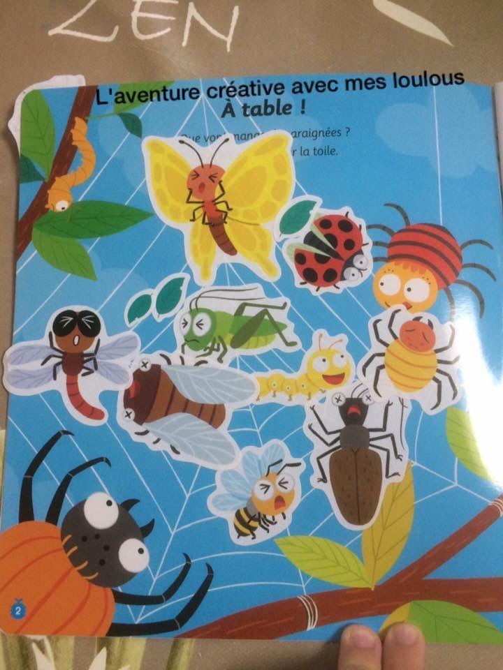 Super stickers petites bêtes éditions Hatier Jeunesse
