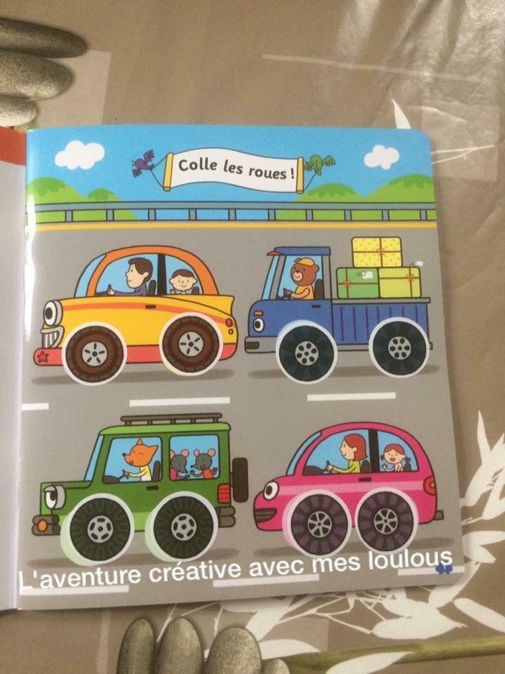 Super stickers véhicules Hatier Jeunesse