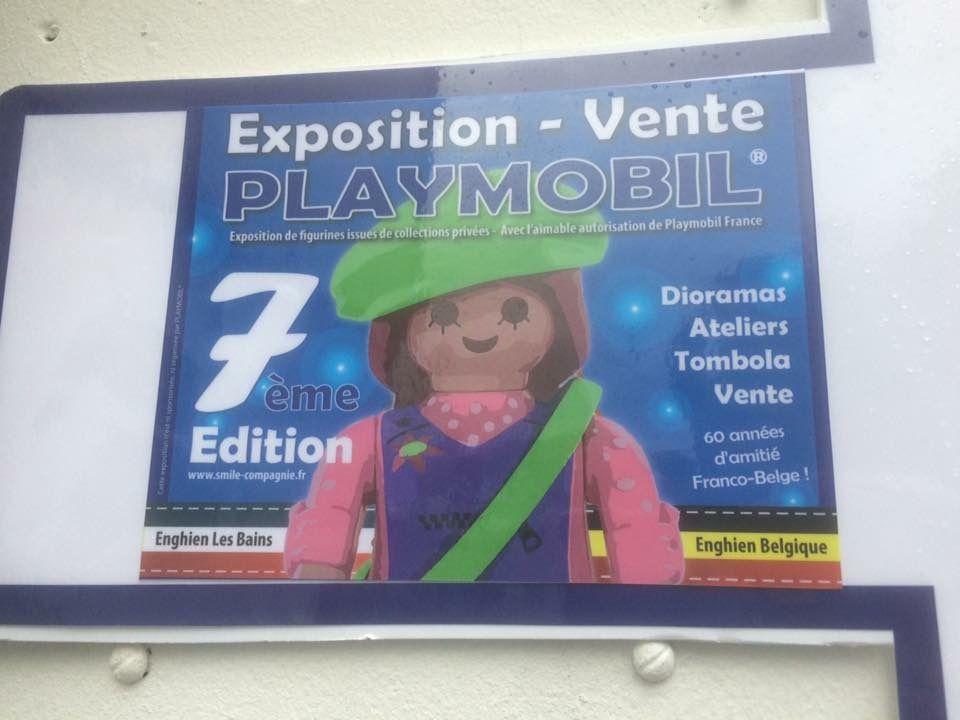 Exposition/vente de Playmobil à Enghien les Bains (95)