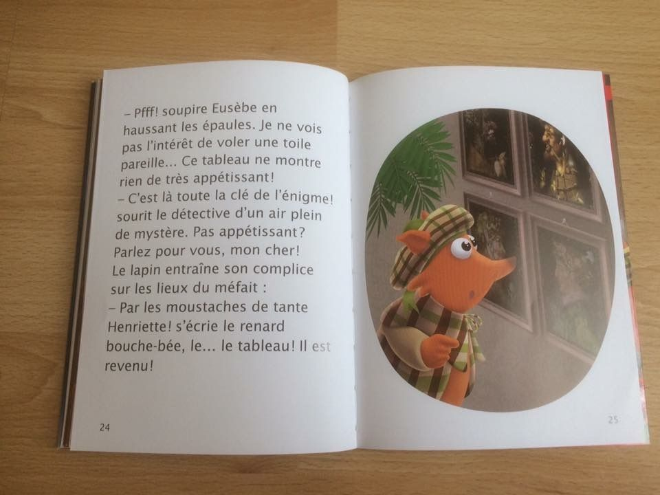 Hercule Carotte détective Panique au musée du Louvre Hatier Jeunesse