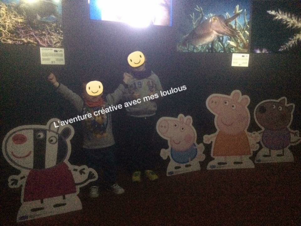 Inauguration exposition Peppa Pig Aquarium de Paris
