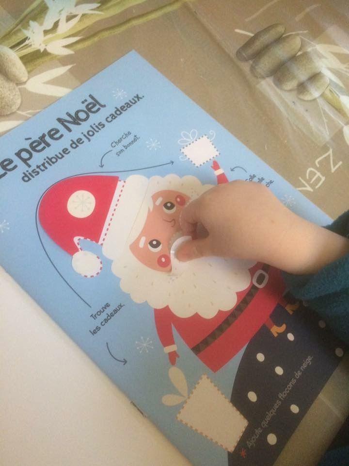 Mes gommettes super chouettes Joyeux Noël Hemma
