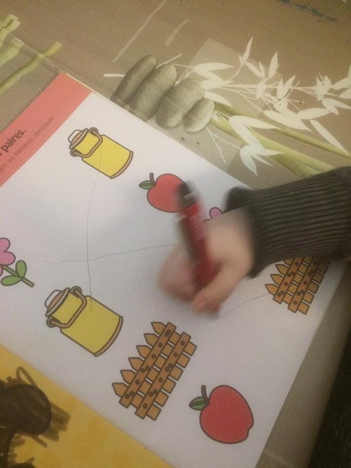 La ferme Livre d'activités avec stickers Hemma