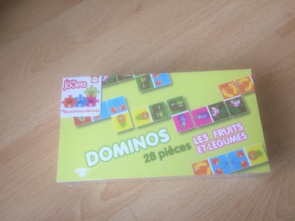Dominos Les fruits et les légumes Auchan