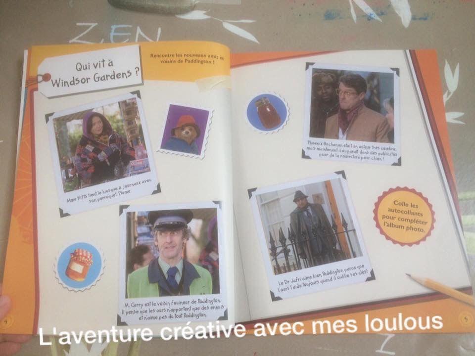 Mon cahier d'activités Padington 2 Michel Lafon