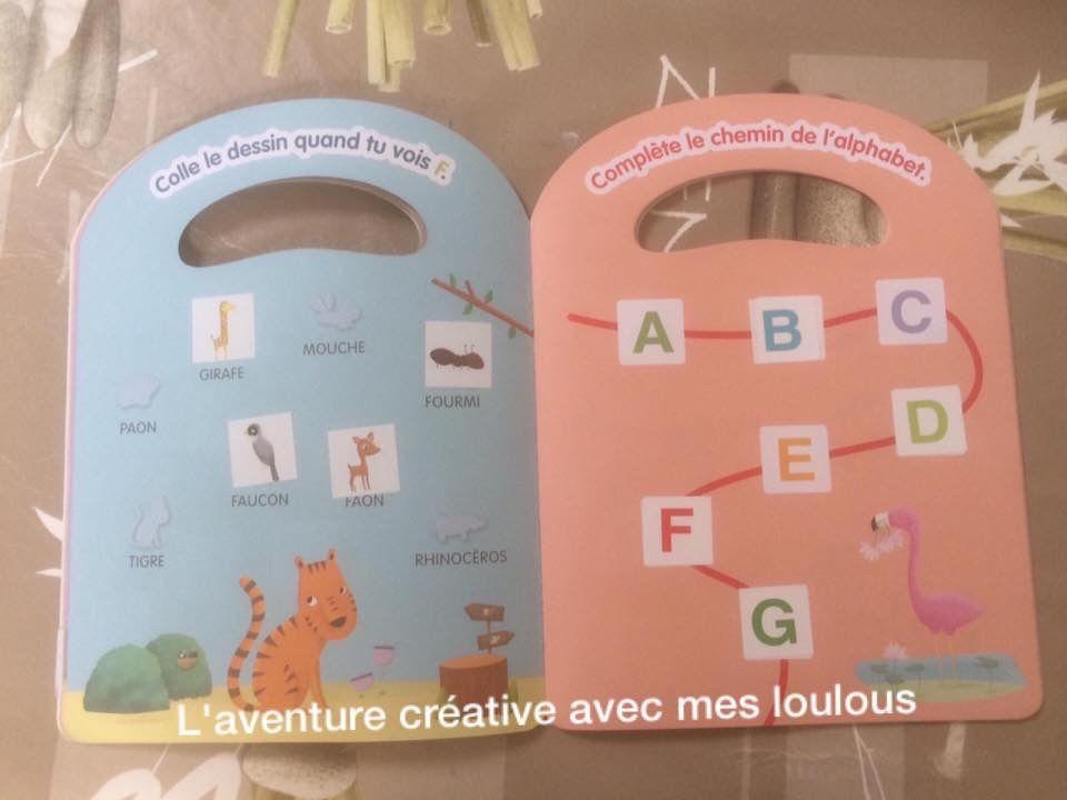 140 gommettes pour apprendre les lettres et les chiffres Les animaux du zoo Bordas