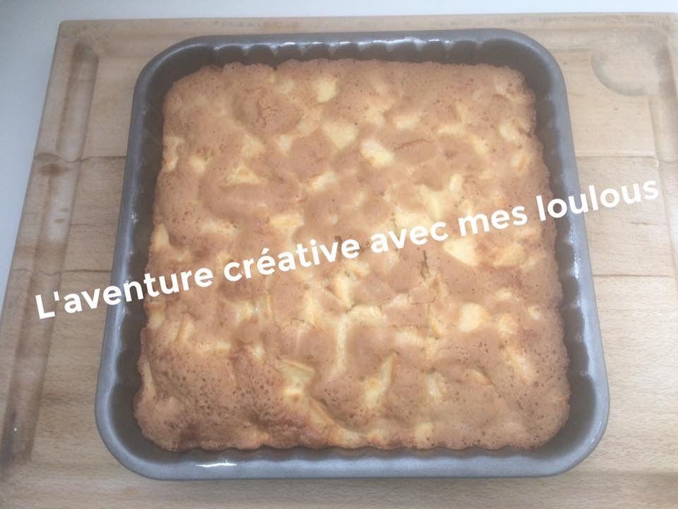 Gâteau aux pommes super facile et rapide