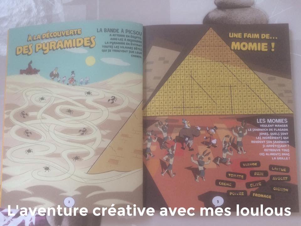 Carnet d'énigmes Destination Canardville! La bande à Picsou Hachette Jeunesse
