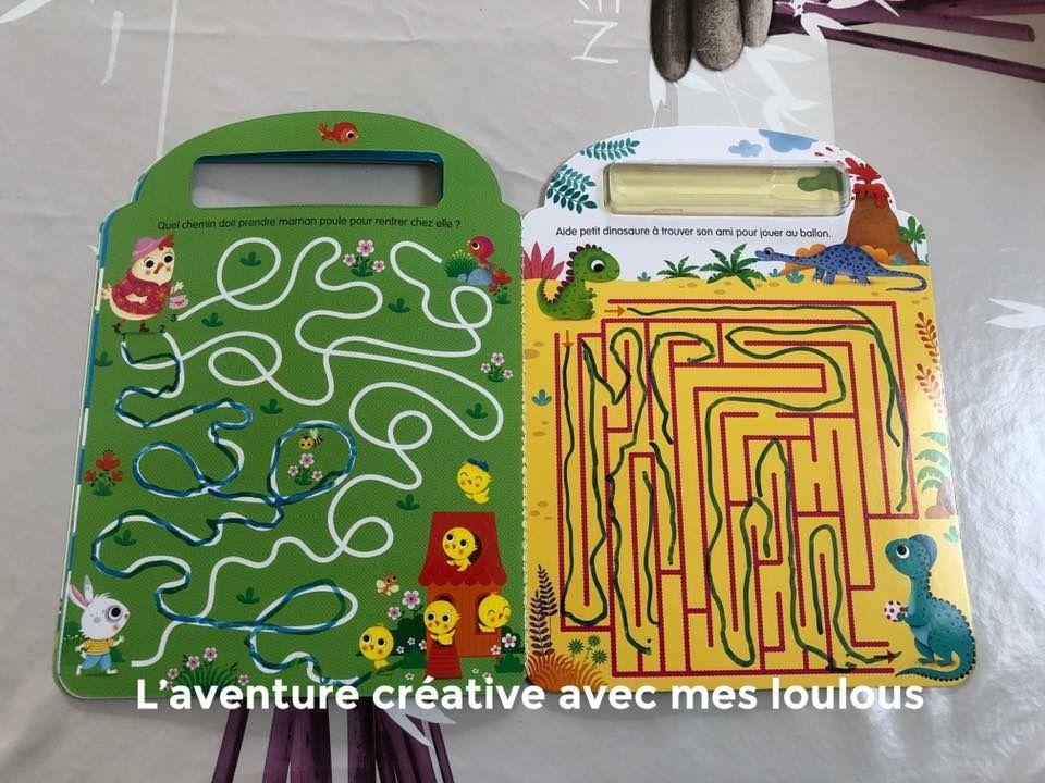 Labyrinthes Les animaux Je joue, j'efface et je recommence! Editions Lito