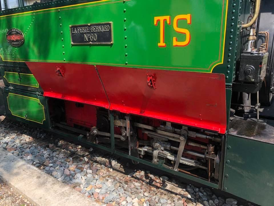 Le train à vapeur du Beauvaisis