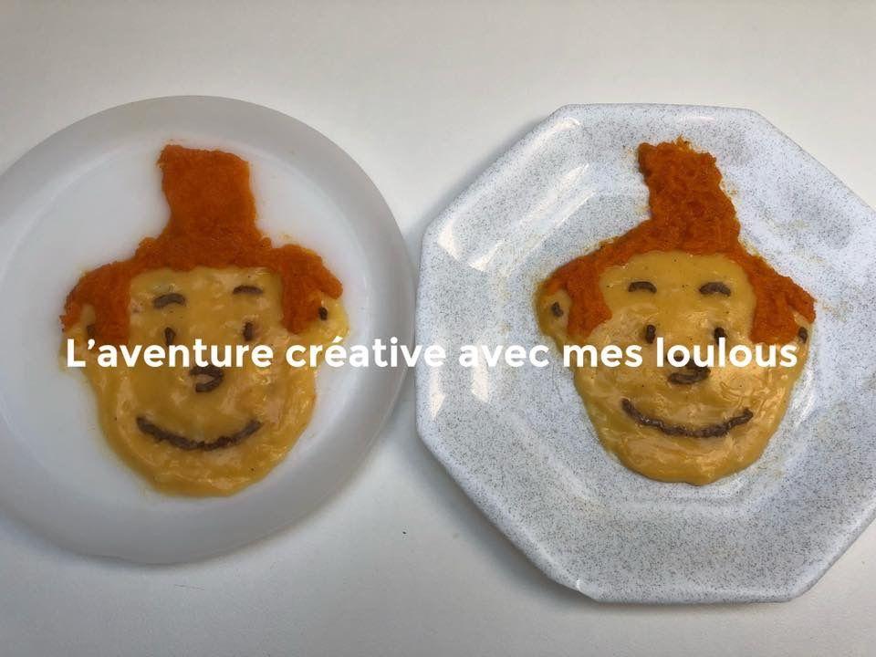 Tintin dans l'assiette des loulous