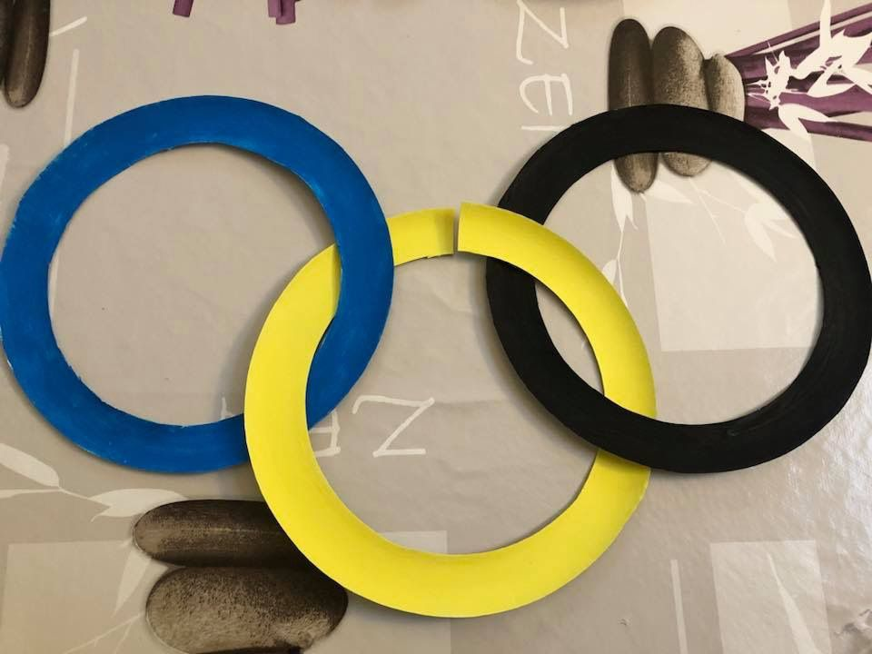 Guirlande des Jeux Olympiques