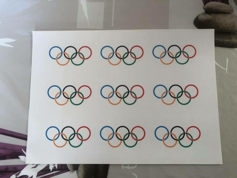 Gobelets d'anniversaire Jeux Olympiques