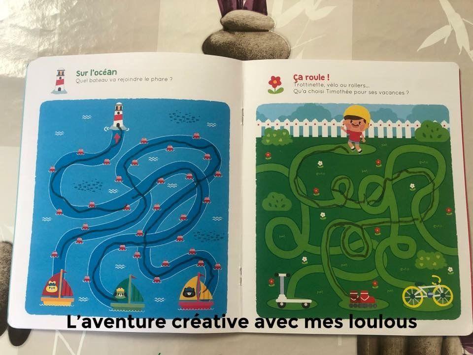 Labyrinthes Vive les vacances! Lito