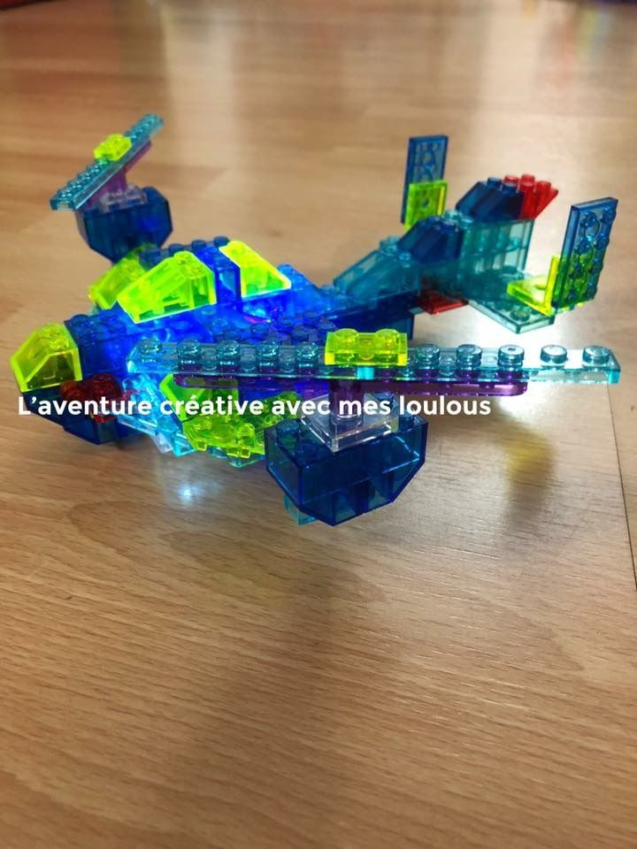 Light-up bricks Briques lumineuses 12 en 1
