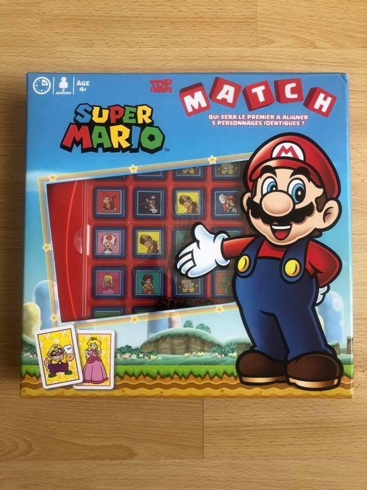 Match Super Mario Winning Moves