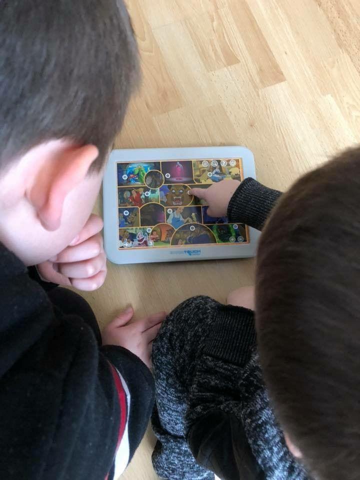 Tablette EducaTouch Junior Contes Disney Educa