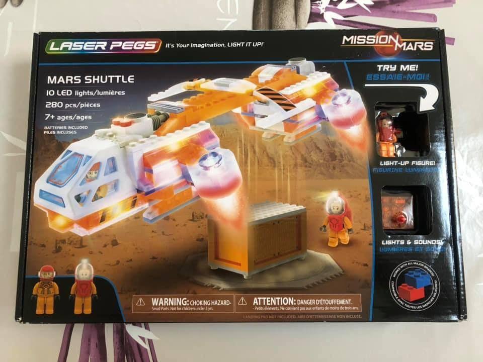 Fusée Mars Shuttle Laser Pegs